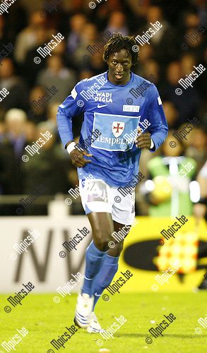2009-11-14 / Seizoen 2009-2010 / Voetbal / KV Turnhout /  Ibrahima Thiam Iyane..Foto: mpics