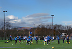 191115 Rangers training