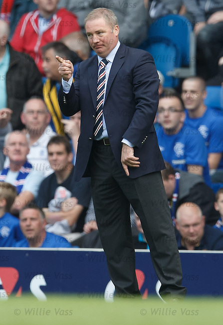 Ally McCoist salutes Temps after the new signing scores on his debut
