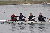 218 TwickenhamRC MasE.4x‐..Marlow Regatta Committee Thames Valley Trial Head. 1900m at Dorney Lake/Eton College Rowing Centre, Dorney, Buckinghamshire. Sunday 29 January 2012. Run over three divisions.