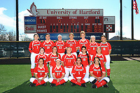UHart Softball Team Photo 4/2/2017