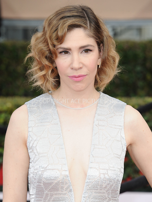 WWW.ACEPIXS.COM<br /> <br /> January 30 2016, LA<br /> <br /> Carrie Brownstein arriving at the 22nd Annual Screen Actors Guild Awards at the Shrine Auditorium on January 30, 2016 in Los Angeles, California<br /> <br /> By Line: Peter West/ACE Pictures<br /> <br /> <br /> ACE Pictures, Inc.<br /> tel: 646 769 0430<br /> Email: info@acepixs.com<br /> www.acepixs.com