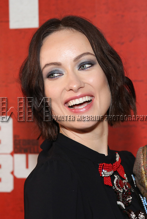 Olivia Wilde attends the Broadway Opening Night Party for George Orwell's '1984' at The Lighthouse Pier 61 on June 22, 2017 in New York City.