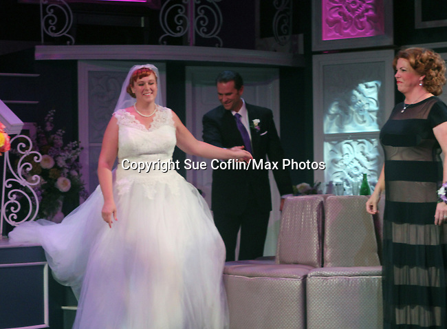 "All My Children's Jane Brockman and Molly Tower and Mark Epperso  star in ""It Shoulda Been You"" - a new musical comedy - at the Gretna Theatre, Mt. Gretna, PA on July 30, 2016. (Photo by Sue Coflin/Max Photos)"