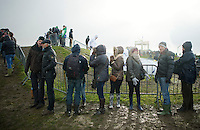 fans in the rain<br /> <br /> 2014 Noordzeecross