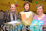 Pictured at the Killarney Community College KES art exhibition on Thursday night were Debbie Gibbs, Firies, Geraldine O'Keeffe Lyne, Killarney and Breda O'Leary, Ballyhar.