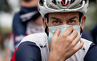 Richie Porte (AUS/Trek-Segafredo) at the race start in Clermont-Ferrand<br /> <br /> Stage 1: Clermont-Ferrand to Saint-Christo-en-Jarez (218km)<br /> 72st Critérium du Dauphiné 2020 (2.UWT)<br /> <br /> ©kramon
