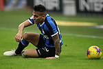 Lautaro Martinez of Inter pictured during the Coppa Italia match at Giuseppe Meazza, Milan. Picture date: 12th February 2020. Picture credit should read: Jonathan Moscrop/Sportimage