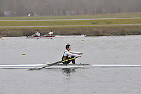 081 WindsorBoysSch J17A.1x..Marlow Regatta Committee Thames Valley Trial Head. 1900m at Dorney Lake/Eton College Rowing Centre, Dorney, Buckinghamshire. Sunday 29 January 2012. Run over three divisions.