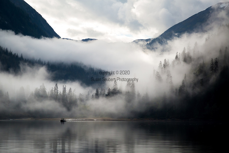 Misty Fjords National Monument, Rudyerd Bay, Inside Passage, Alaska, USA