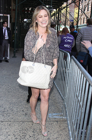 NEW YORK, NY - APRIL 14: Christine Taylor seen after an appearance on AOL's Build Series in New York City on April 14, 2017. Credit: RW/MediaPunch