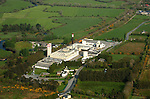 An aerial view of Rathmore Village and Cadbury's factory  in County kerry in 2007..Picture by Don MacMonagle