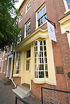 Washington DC; USA: Alexandria's Old Town, historic Stabler-Leadbeater Apothecary Museum.Photo copyright Lee Foster Photo # 34-washdc79418