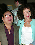 Danny Devito and Rhea Perlman.Attending the Pre-Cocktail Reception Party for the Movie Premiere of ANYTHING ELSE at Restaurant Brasserie .8 1/2  with a Screening at the Paris Theatre, .New York City..September 16, 2003..