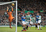 Wes Foderingham saves from Moussa Dembele