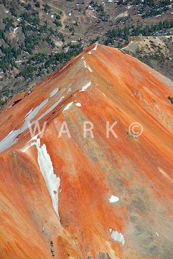 Peak near Silverton, Colorado.