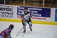 IJSHOCKEY: HEERENVEEN: IJsstadion Thialf, 02-02-2013, Eredivisie, UNIS Flyers - Amsterdam G's, Eindstand: 9-2, Brent Janssen (#10 | Flyers), ©foto Martin de Jong