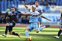 Luis Alberto Lazio scores a goal.<br /> Roma 12-01-2019 Stadio Olimpico<br /> Football Calcio Coppa Italia 2018/2019, Ottavi. <br /> Lazio - Novara<br /> Foto Antonietta Baldassarre / Insidefoto