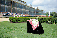 Scenes from around the track on Apple Blossom Handicap Day on April 13, 2012 at Oaklawn Park in Hot Springs, Arkansas.  (Bob Mayberger/Eclipse Sportswire)