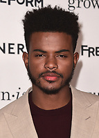 "HOLLYWOOD- DECEMBER 13:  Trevor Jackson at the premiere of ""Grown-ish"" at Lure on December 13, 2017 in Hollywood, California. (Photo by Scott Kirkland/PictureGroup)"