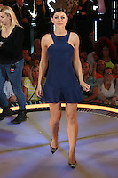 Emma Willis at The Celebrity Big Brother final<br /> Borehamwood. 12/09/2014 Picture by: James Smith / Featureflash