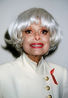 Carol Channing 1994, Photo By Michael Ferguson/PHOTOlink