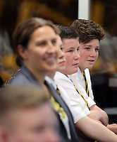 Pictured: Ysgol Maesteg School pupils Wednesday 25 November 2015<br />