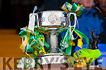 Bishop Moynihan Cup at the Kerry County Senior Football Final at Fitzgerald Stadium on Sunday.