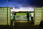 Blyth fans watching to the bitter end. Blyth Spartans v Brackley Town, 30112019. Croft Park, National League North. Photo by Paul Thompson.