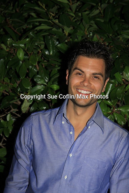 "General Hospital's Erik Valdez ""Trey"" at SoapFest's Celebrity Weekend -  A Night of Stars - a VIP event with dinner, autographs, photos, silent and live auction on November 10, 2012 at Bistro Soleil at Old Historic Marco Inn (Photo by Sue Coflin/Max Photos)"