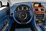 Car pictures of steering wheel view of a 2016 Astonmartin DB9 Base 2 Door Coupe