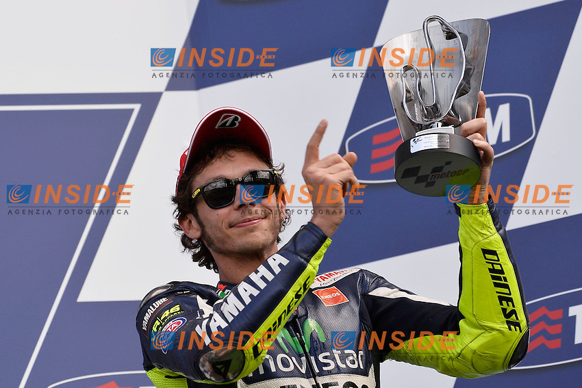 Valentino Rossi Yamaha MotoGp <br /> Scarperia (Italia) 01/06/2014 - Motomondiale Gp Mugello foto Luca Gambuti/Image Sport/Insidefoto