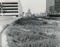 1969 July 13..Redevelopment...Downtown South (R-9)..Looking at Macarthur Memorial from Royster Building site.Looking North..Millard Arnold.NEG# MDA69-57-8.NRHA#..