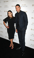 NEW YORK, NY-July 14:  Eva Longoria, Trevor Noah, at Chivas Regal presents The Venture Grand Finale at Pier 59 West Side Highway in New York. NY July 14, 2016. Credit:RW/MediaPunch