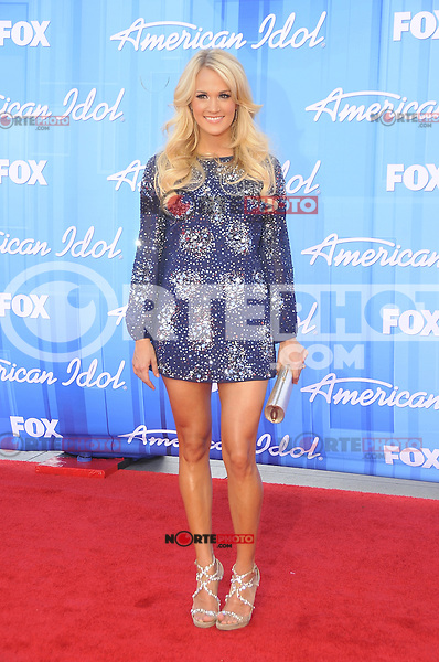 American Idol 2012 Finale Results Show at Nokia Theatre L.A. Live on May 23, 2012 in Los Angeles, California. ©mpi35/MediaPunch Inc. Pictured- Carrie Underwood