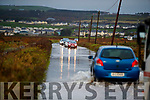 Flooding on the road between Ardfert and Ballyheigue on Wednesday.