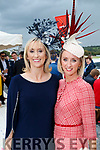 Mairead Ryan (Carrigkerry, Limerick) and Joanne Foley (Glin, Limerick), enjoying Ladies Day at Listowel Races on Friday last.