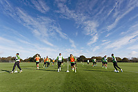 Swansea City players in action during the Swansea City Training Session at The Fairwood Training Ground in Swansea, Wales, UK. Wednesday 16 October 2019