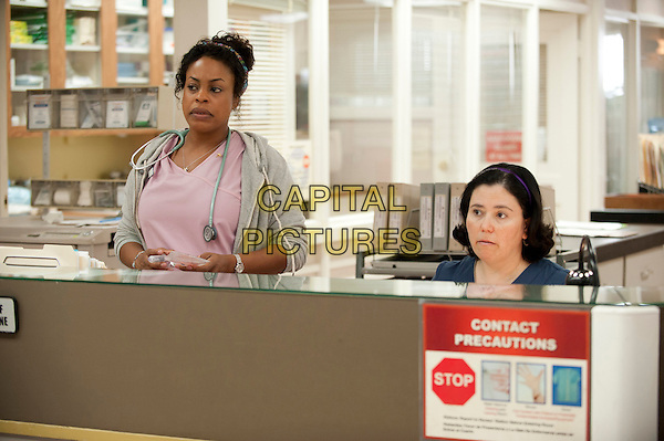 Niecy Nash &amp; Alex Borstein<br /> in Getting On (2013) <br /> (Season 1)<br /> *Filmstill - Editorial Use Only*<br /> CAP/FB<br /> Image supplied by Capital Pictures