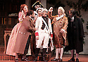 2008 - THE BARBER OF SEVILLE - Jeremy Kelly as Figaro, Brian Stucki as Count Almaviva, Michael Gallup as Dr. Bartolo, Dean Peterson as Don Basilio, Jennifer Rivera as Rosina and Teresa Brown as Berta in Opera Pacific's production of the Barber of Seville.