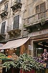 Market scene, Palermo, Sicily, Italy