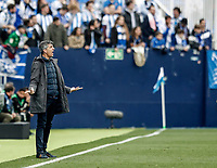 2nd February 2020; Estadio Municipal de Butarque, Madrid, Spain; La Liga Football, Club Deportivo Leganes versus Real Sociedad; Imanol Alguacil Coach of Real Sociedad