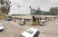 Photo of McKinnon Family Tennis Center, Athletics facilities, June 25, 2013, Occidental College, Los Angeles. (Photo by Marc Campos, Occidental College Photographer)