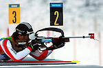 Ahmet Ustuntas (TUR)  competes during the 20 km Individual Biathlon race as part of the Winter Universiade Trentino 2013 on 15/12/2013 in Lago Di Tesero, Italy.<br /> <br /> &copy; Pierre Teyssot - www.pierreteyssot.com