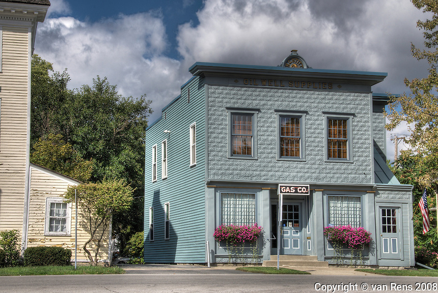 The Oil Boom of northwest Ohio began in 1885. The Stitt building in Waterville, OH. provided oil well supplies to striving explored and production sites as well as natural gas to the local community.