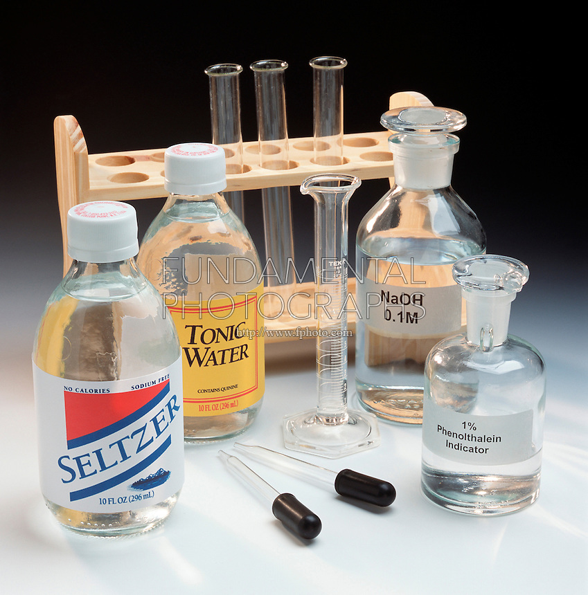 SETUP FOR TITRATION OF SODA<br />