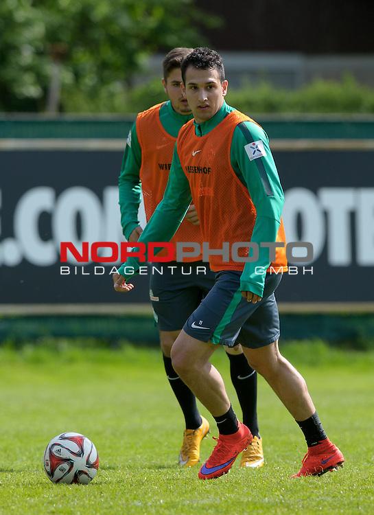 07.05.2015, Trainingsgelaende, Bremen, GER, 1.FBL, Training Werder Bremen, im Bild Levin &Ouml;ztunali / Oeztunali (Bremen #11)<br /> <br /> Foto &copy; nordphoto / Frisch