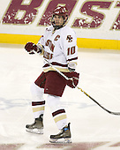 Brian Boyle (BC - 10) - The Boston College Eagles defeated the visiting Northeastern University Huskies 7-1 on Friday, March 9, 2007, to win their Hockey East quarterfinals matchup in two games at Conte Forum in Chestnut Hill, Massachusetts.