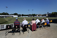Spectators look on during Essex CCC vs Somerset CCC, Specsavers County Championship Division 1 Cricket at The Cloudfm County Ground on 25th June 2018