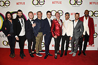 WEST HOLLYWOOD, CA - FEBRUARY 07: (L-R) Kyan Douglas, Jonathan Van Ness, Bobby Berk, Thom Filicia, Antoni Porowski, Carson Kressley, Tan France, Jai Rodriguez and Karamo Brown attend the premiere of Netflix's 'Queer Eye' Season 1 at Pacific Design Center on February 7, 2018 in West Hollywood, California.<br /> CAP/ROT/TM<br /> &copy;TM/ROT/Capital Pictures